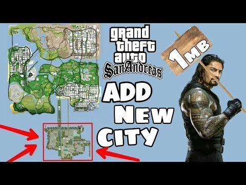 GTA San Andreas: New city for android (Only 1MB) [No Root]