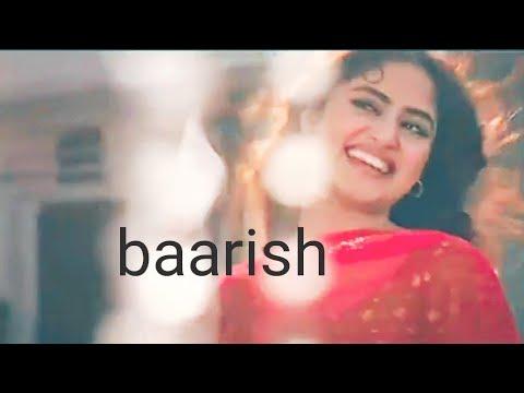 Baarish in Different video