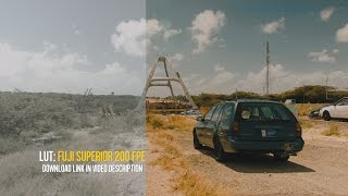 BMPCC Film look with LUT Fuji Superior 200 free download