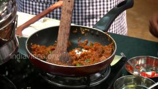 Easy Raw Food Recipes Stuffed Chicken Fry - Recipe and preparation of a Malabar Cuisine indian food