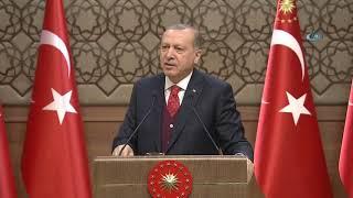 Cumhurbaşkanı Erdoğan'ın O Sözlerini Salon Ayağa Kalkarak Alkışladı!