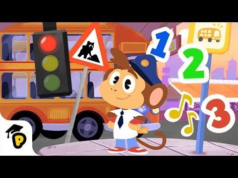 Dr. Panda TotoTime: Bip's Bus Ride | Full Episode 10 | Kids learning video