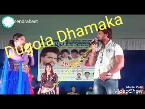 Xxx Mp4 Khesari Lal N Nisha Panday Dugola Performance HD Video 3gp Sex