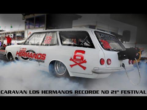 Caravan Los Hermanos Recorde no 21º Festival 8.049 274km h