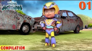 Vir : The Robot Boy | Vir Action collection - 1 | Action series | WowKidz Action