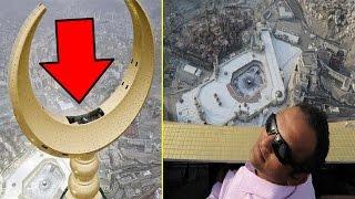هل تعلم بأنه توجد غرفة داخل هلال ساعة مكة المكرمة !!