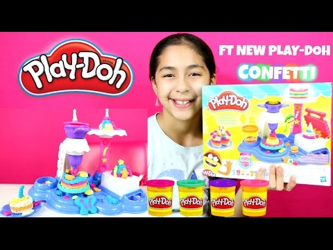 Tuesday Play Doh Cake Party Whit PLAY DOH CONFETTI |B2cutecupcakes