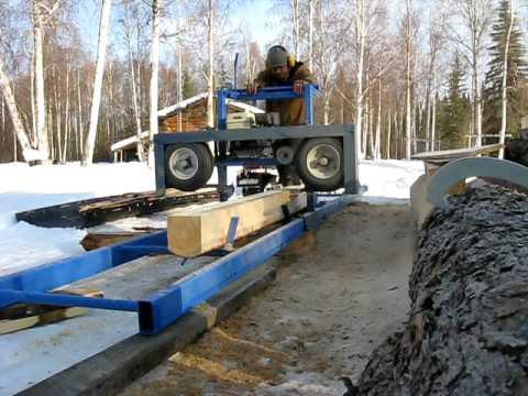 Sawmill in Interior Alaska