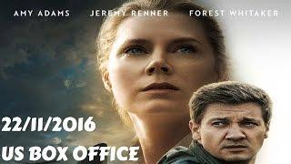 US Box Office (22/11/2016) أفلام البوكس أوفيس