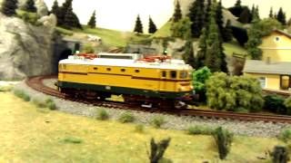 Acme lokomotiva SŽ 342-004 test