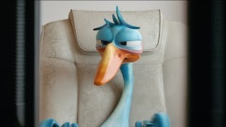 Gordon Goose: Risky Life! / Funny animated short film
