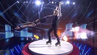 America's Got Talent 2017 Billy & Emily England Performance & Comments Live Shows S12E13