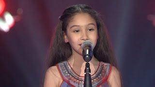 جورية حمدي – الحب لعبة - مرحلة الصوت وبس – MBCTheVoiceKids