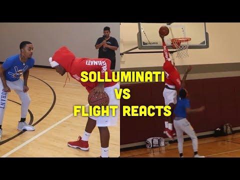 SoLLUMINATI vs FLIGHT 1v1 Raw Footage
