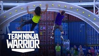 Iron Grip vs. Lab Rats   Team Ninja Warrior   American Ninja Warrior