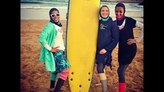 Into the Sea - First Women to Surf in Iran