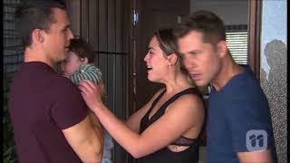 [Neighbours] 7754 Mark & Paige & Jack & Baby Gabriel Scene