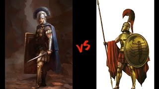Spartans VS Roman Legionnaire - Training and Equipment - History That Changed the World - 002