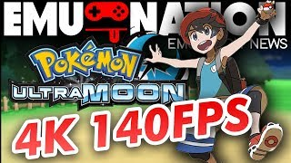 EMU-NATION: Pokemon Ultra Sun and Moon on *NEW* Citra GPU! (HOW TO SETUP)