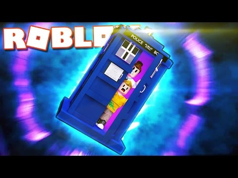 FLYING A DOCTOR WHO TARDIS IN ROBLOX!