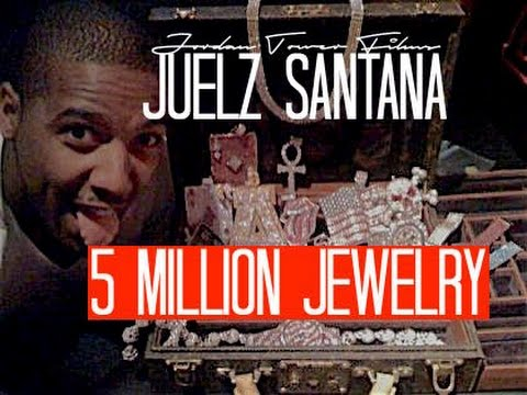 5 MILLION IN JEWELRY JUELZ SANTANA 1 of 2 Behind The Music Jordan Tower Network