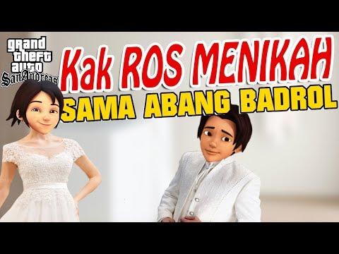 Kak Ros Menikah Dengan Badrul, Upin ipin Senang GTA Lucu