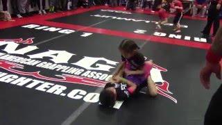 NAGA Philadelphia 2/6/16 Girls Intermediate 7 year old finals