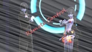 【MMD X Creeepypasta】Remote control【Jeff the killer X Jane the killer】