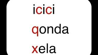 Introduction to isiXhosa pronunciation