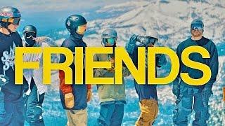 FRIENDS // Skiing is fun