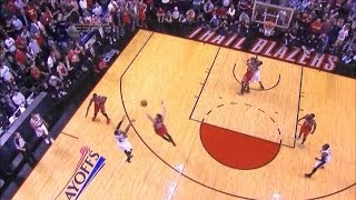 Rockets vs Blazers amazing finale : Damian Lillard's Buzzer-beater three wins the series   game 6