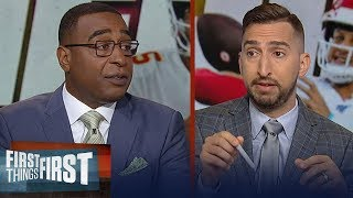I wouldn't be surprised if Chiefs lose to Ravens on Sunday — Nick Wright | NFL | FIRST THINGS FIRST
