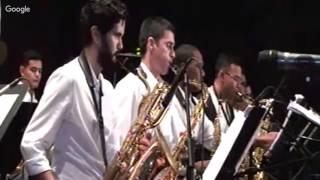 Concierto Orquetas Simón Bolívar Big Band Jazz  - INCES 24/11/2016