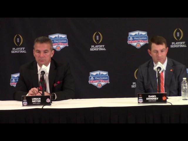 TigerNet.com - Swinney and Meyer Fiesta Bowl press conference