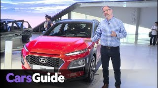 Hyundai Kona 2017 SUV revealed and reviewed: quick first drive video
