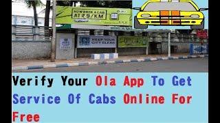 How To Register Ola App   Verify Your Ola App