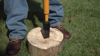 Roughneck Manual Log Splitter