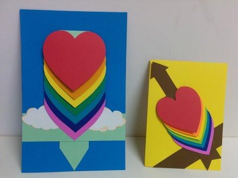 Xxx Mp4 Art And Craft How To Make Waterfall Card Cascade Card 3gp Sex
