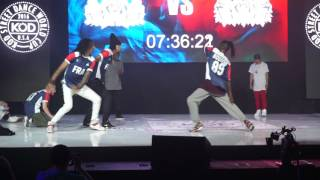KOD 2016 France vs Canada - Hip Hop