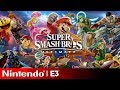 Super Smash Bros Ultimate Full Reveal | Nintendo E3 2018 Direct