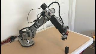 AR2 6 axis stepper motor robot