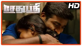 Sethupathi Tamil Movie | Scenes | Vijay Sethupathi gets his job back | Vela Ramamoorthy | Remya