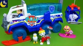 Paw Patrol Toys The Great Snow Rescue Arctic Terrain Vehicle Winter Snowboard Pups Christmas Toys