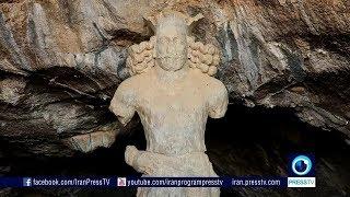 Iran Shapur I ancient cave, Kazeroun county غار باستاني شاپور يكم ساساني ايران