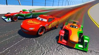 Race Disney Pixar Cars 3 Daytona Lightning McQueen Francesco Rip and Friends Driven To Win & Songs