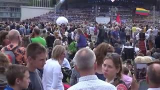 "2018 07 06 Dainų diena ""Vienybė težydi"" Vingio parko estradoje (fragmentas)"