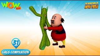 Motu Patlu - Funny Gags #31 - 1 hour episodes!