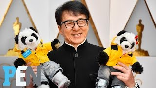 Jackie Chan Introduces His Panda Stuffed Animals | PEN | People