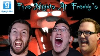 Five Nights at Freddy's GMod Horror Map Part 4 With Markiplier and Muyskerm!