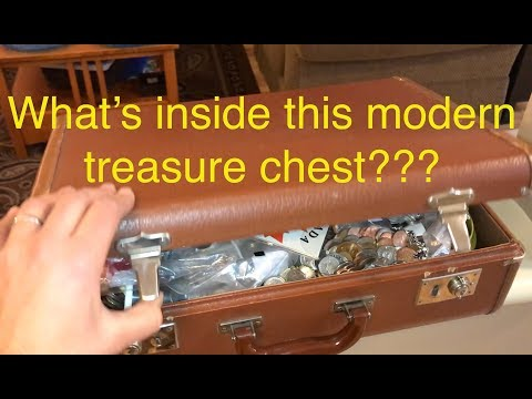 300 Garage Sale Treasure Chest Amazing find See description below